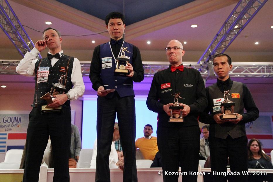 Heo Jung Han vô địch Worldcup Hurghada năm 2016 - Nguồn: Kozoom